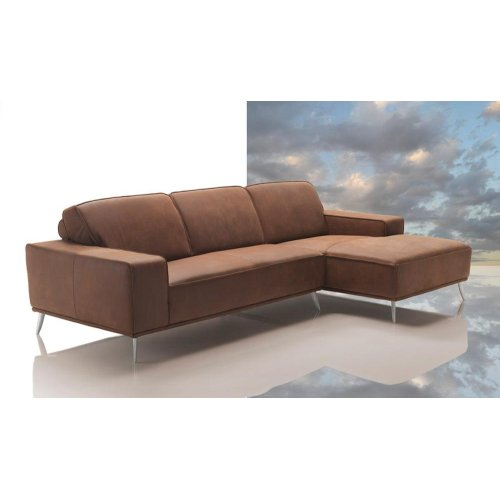 Dima Elite Modern Africa Leather Sectional Sofa Made In Italy