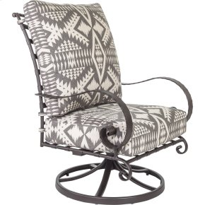 Classico High-back Swivel Rocker Lounge Chair