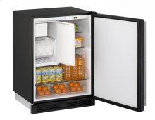 """1000 Series 24"""" Combo® Model With Black Solid Finish and Field Reversible Door Swing"""