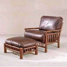 47 Lewis Creek Club Chair and 48 Lewis Creek Ottoman