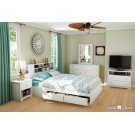 Mates Bed and Bookcase Headboard Set - 60'' Product Image