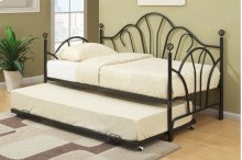 Black Twin Trundle (Twin Frame Not Included) See Model #F9237