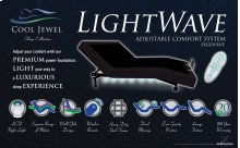 Cool Jewel Adjustable Bed - LightWave - Available In Queen and Twin Xl.
