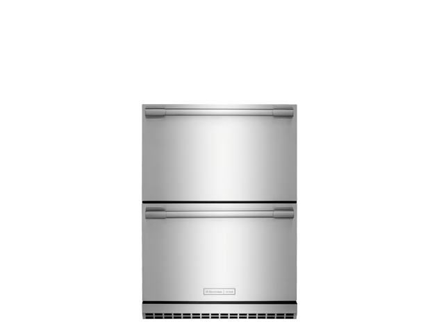e24rd50qs in stainless steel by electrolux icon in largo, fl  electrolux icon® under counter refrigerator drawers