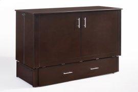 Sagebrush Murphy Cabinet Bed in Dark Chocolate Finish