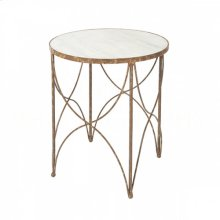 Halmstad Side Table in Rustic Storm
