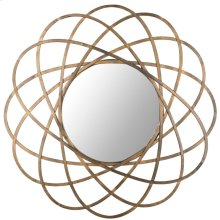 Galaxy Wall Mirror - Antique Gold