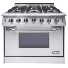 """NXR 36"""" Professional Range with Six Burners, Convection Oven (NRG3602)"""