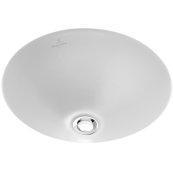 Undercounter washbasin (round) Round - White Alpin