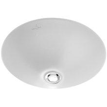 Undercounter washbasin (round) Round - White Alpin *OPEN BOX*