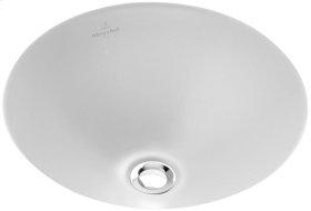 Undercounter washbasin (round) Round - Pergamon CeramicPlus