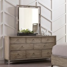 Sophie - Mirror - Natural Finish