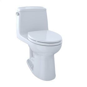 Eco UltraMax® One-Piece Toilet, 1.28 GPF, ADA Compliant, Elongated Bowl, CeFiONtect - Cotton