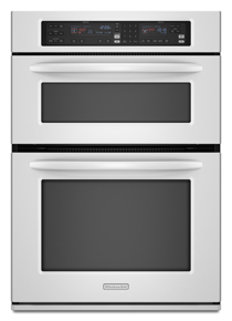 Combination Oven 30 in. Width 1.4 Cu. Ft. Microwave Capacity 4.3 Cu. Ft. Oven Capacity Microwave Convection Cooking Even-Heat™ True Convection System Architect® Series II(White)