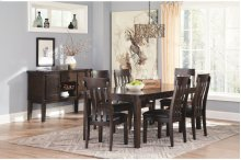 D596 Haddigan 5PC Dining Set w/ Leaf