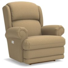 Kirkwood PowerReclineXR® Reclina-Rocker® Recliner w/ Brass Nail Head Trim