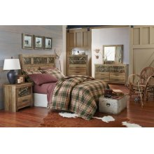 Standard Furniture 55450 Habitat Panel  Bedroom set Houston Texas USA Aztec Furniture