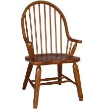 Bow Back Arm Chair - Oak