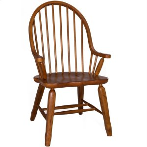 Liberty Furniture Industries Bow Back Arm Chair - Oak