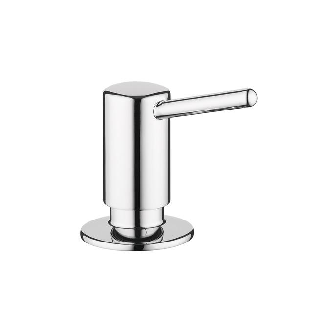 Chrome Contemporary Soap Dispenser
