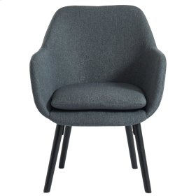Otti Accent Chair in Charcoal