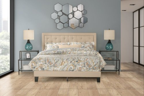 La Croix Bed In One - Queen - Linen