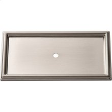Campaign Rope Backplate 3 11/16 Inch - Brushed Nickel