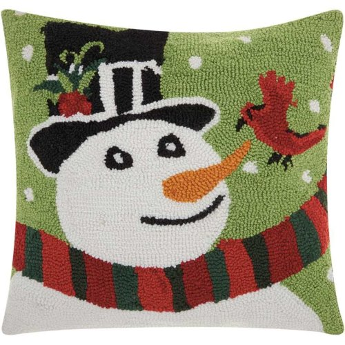 """Home for the Holiday Yx026 Multicolor 18"""" X 18"""" Throw Pillows"""