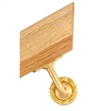 Handrail Bracket w/Small Ribbon & Reed Rose