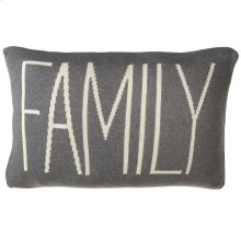 """Family"" Pillow."