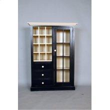 """#484 Morristown Door, Drawer, Cupboard 43""""wx14""""dx59.5""""h"""