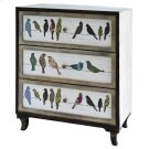 Birds on a Wire 3 Drawer Painted Chest Product Image