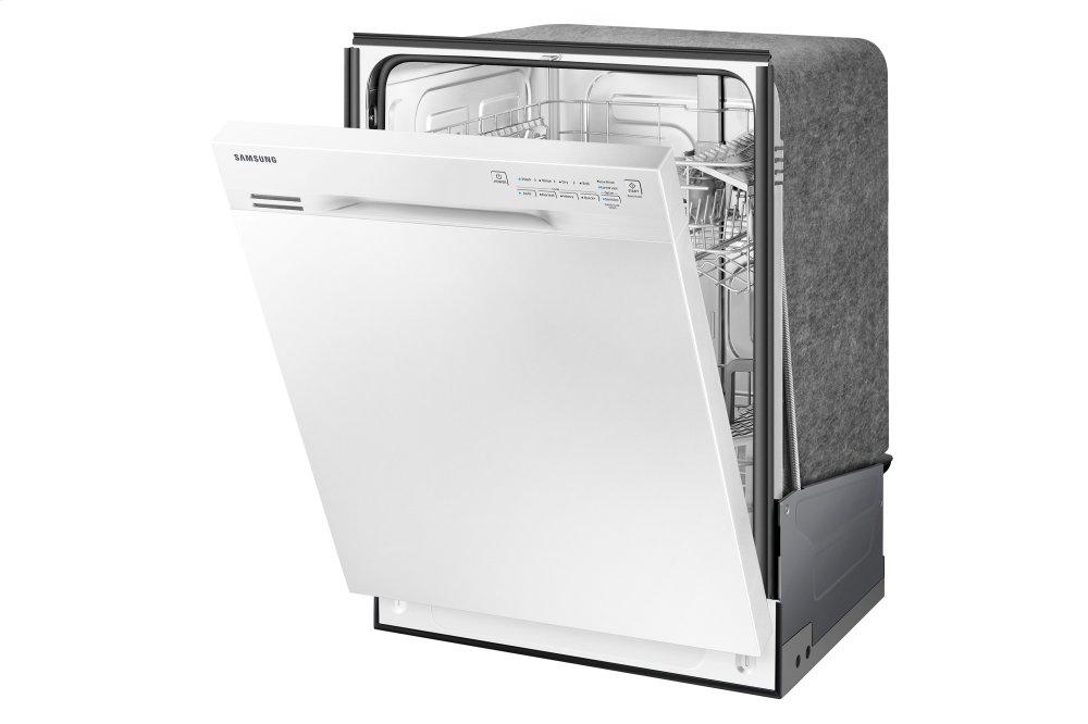DW80J3020UWSamsung Appliances Front Control Dishwasher with