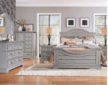 Stonebrook - Queen 4 Pc. Bedroom (Headboard, Footboard & Rails, Dresser, Mirror)