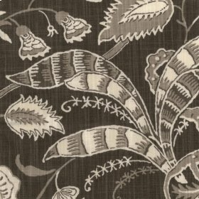 Retro Style Charcoal Fabric