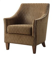 Emerald Home Kismet Accent Chair Wembley Pecan U3721-05-05