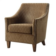 Emerald Home Kismet Accent Chair Wembley Pecan U3721-05-05