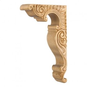 "2-1/2"" x 9"" x 14"" Basque Corbel. e Hardware Resources, Inc. Species: Maple"