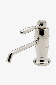 Universal Traditional One Hole Instant Hot and Filtered Cold Water Dispenser with Metal Lever Handle STYLE: UNWD10