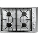 "Monogram 30"" Stainless Steel Gas Cooktop (Natural Gas) Product Image"