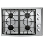 "GE MonogramMONOGRAMMonogram 30"" Stainless Steel Gas Cooktop (Natural Gas)"
