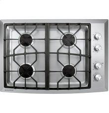 "GE Monogram® 30"" Stainless Steel Gas Cooktop (Liquid Propane)"
