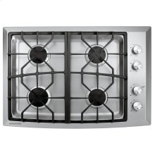 """Monogram 30"""" Stainless Steel Gas Cooktop (Natural Gas)-CLOSEOUT"""