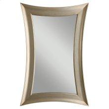 Antique Silver Leaf Mirror