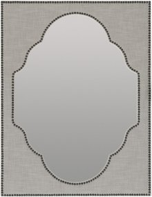 Boheme Nourmand Linen Wrapped Mirror
