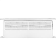 """36"""" Telescoping Downdraft Ventilation, Euro-Style Stainless Handle"""