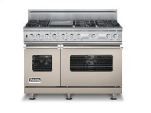"48"" Custom Sealed Burner Dual Fuel Electronic Control Range, Propane Gas"