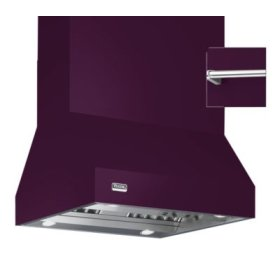"42"" Wide Island Hood, Chrome Accessory Rail on front, back and both sides"