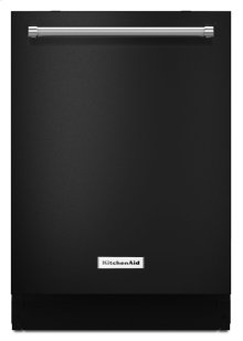 44 dBA Dishwasher with Dynamic Wash Arms - Black