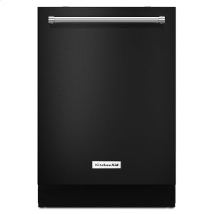 44 dBA Dishwasher with Dynamic Wash Arms - Black - BLACK